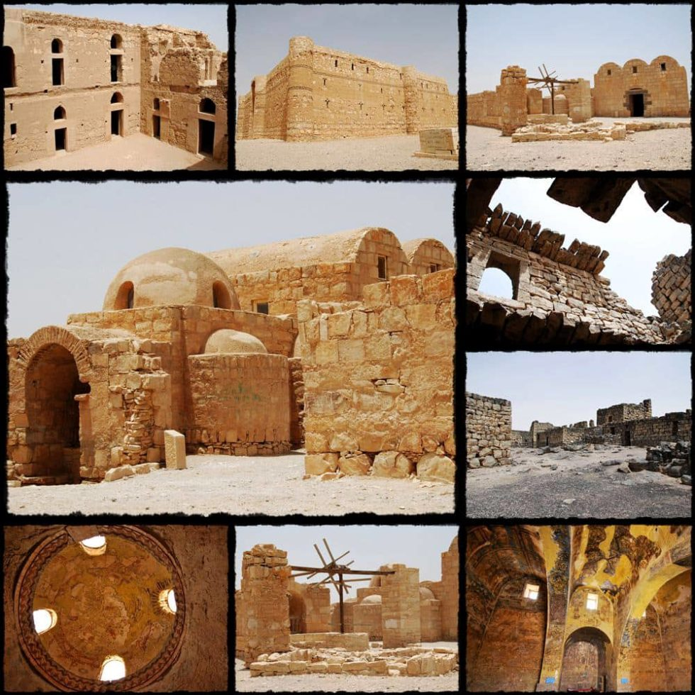 Desert Castle: Kharana Palace, Amra Palace, Azraq Castle, Jordan Day Tour, Driver in Jordan, Jordan Tour
