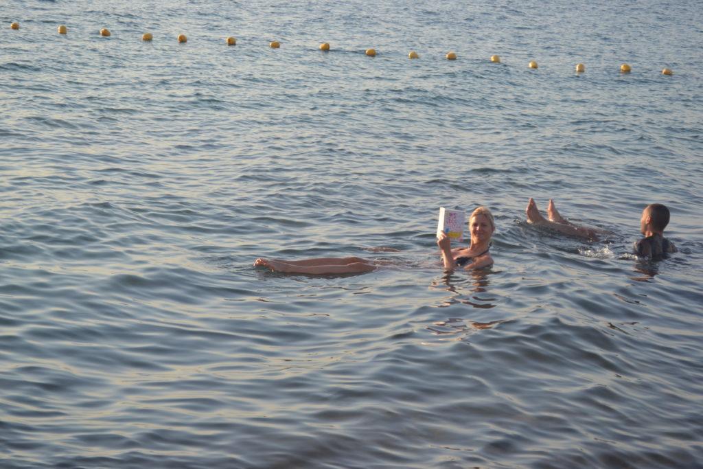 Dead Sea Tour, Floating in Dead Sea - Jordan