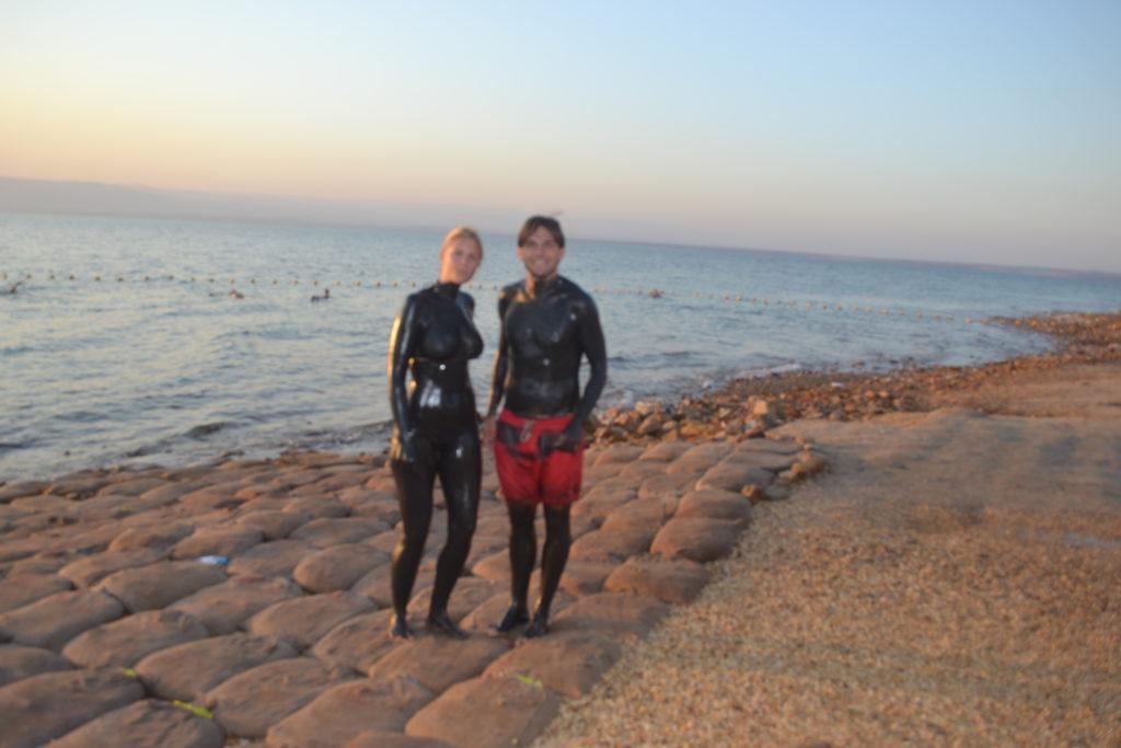Dead Sea Tour, Dead Sea Mudding