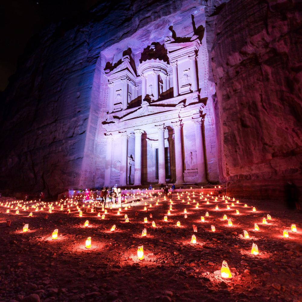 Petra By Night, Jordan, Jordan DayTour And More, Driver in Jordan