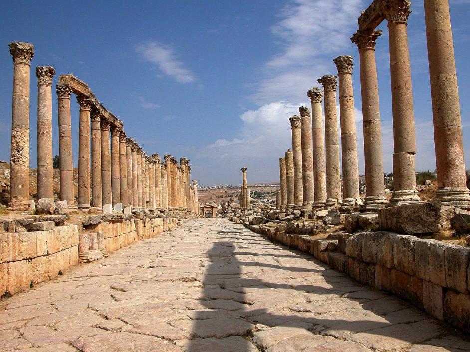 Jerash - 2 Days Tour Jordan - Cardo Maximus - Jordan Day Tour and More