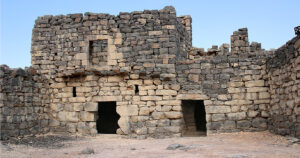 Azraq-Castle-Residential-area-In-the-northern-section-are-residential-areas-storerooms-and-stables.-Jordan-Day-Tour-And-More-Desert-Castle-Jordan-Tour-Driver-in-Jordan