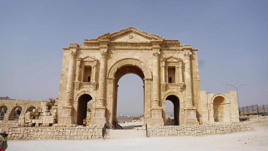 Arch of Hadrian - Jerash - Jordan Day Tour & More