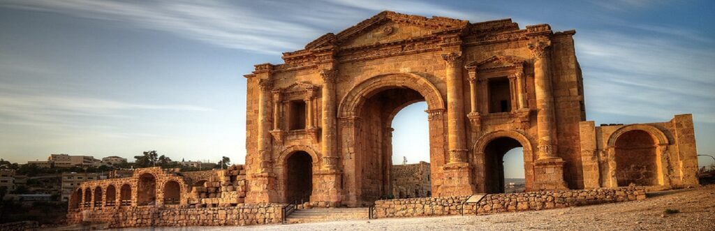 Arch of Hadrian - Jordan - The Roman city
