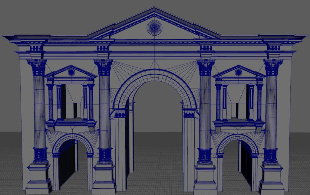 Hadrian's Arch - artstation artwork