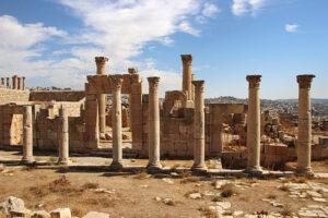 Jerash - Jordan - Church of Saint John the Baptist - Jordan Day Tour & More.