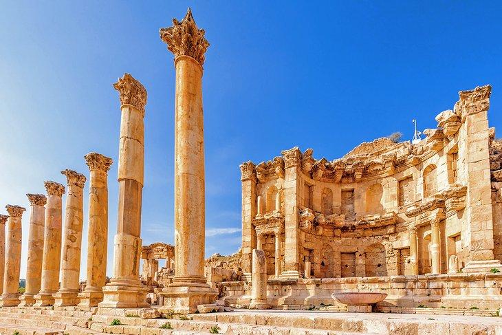 Nymphaeum - Jerash - Jordan - Jordan Day Tour & More