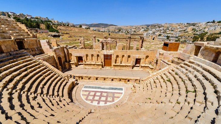 North Theater - Jordan - Jerash - Jordan Day Tour & More