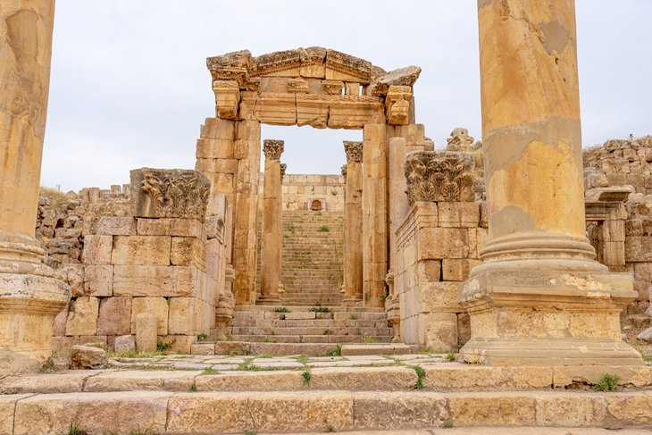 Jerash - cathedral complex - Jordan Day Tour and More